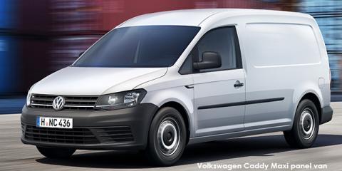 Volkswagen Caddy Maxi 2.0TDI panel van - Image credit: © 2018 duoporta. Generic Image shown.