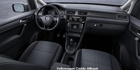 Volkswagen Caddy Alltrack 2.0TDI auto - Image credit: © 2019 duoporta. Generic Image shown.