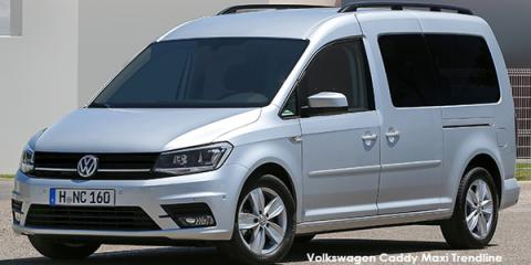 Volkswagen Caddy Maxi 2.0TDI Trendline auto - Image credit: © 2019 duoporta. Generic Image shown.