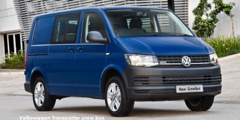 Volkswagen Transporter 2.0TDI crew bus LWB auto - Image credit: © 2019 duoporta. Generic Image shown.