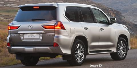 Lexus LX 570 - Image credit: © 2020 duoporta. Generic Image shown.