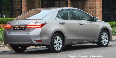 Toyota Corolla 1.6 Prestige auto - Image credit: © 2019 duoporta. Generic Image shown.