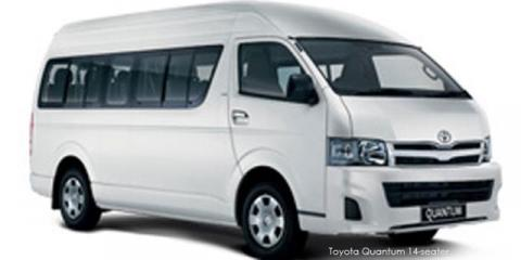 Toyota Quantum 2.7 GL 14-seater bus - Image credit: © 2019 duoporta. Generic Image shown.