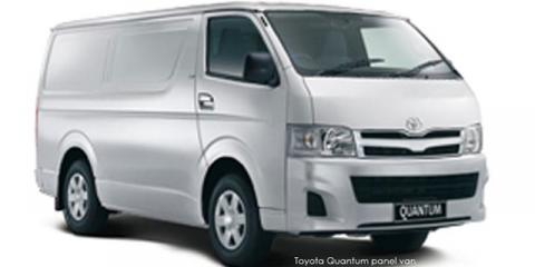 Toyota Quantum 2.5D-4D panel van - Image credit: © 2019 duoporta. Generic Image shown.