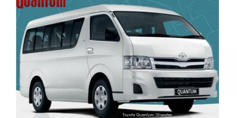 Toyota Quantum 2.5D-4D GL 10-seater bus - Image credit: © 2018 duoporta. Generic Image shown.
