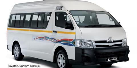 Toyota Quantum 2.7 Sesfikile - Image credit: © 2019 duoporta. Generic Image shown.