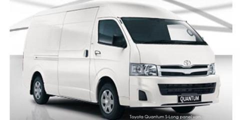 Toyota Quantum 2.7 S-Long panel van - Image credit: © 2019 duoporta. Generic Image shown.
