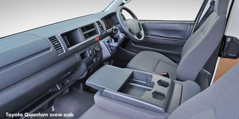 Toyota Quantum 2.7 crew cab - Image credit: © 2019 duoporta. Generic Image shown.