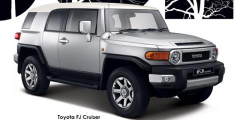 Toyota FJ Cruiser - Image credit: © 2019 duoporta. Generic Image shown.