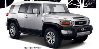 Toyota FJ Cruiser - Image credit: © 2020 duoporta. Generic Image shown.
