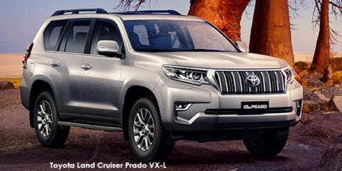 Toyota Land Cruiser Prado 3.0DT VX-L - Image credit: © 2020 duoporta. Generic Image shown.
