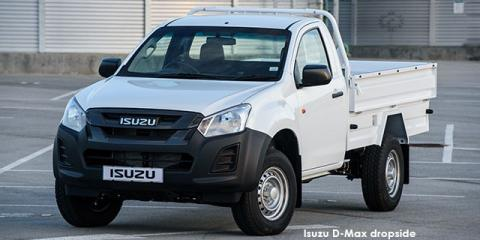 Isuzu D-Max 250C Fleetside chassis cab - Image credit: © 2020 duoporta. Generic Image shown.