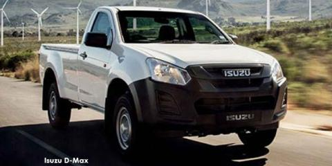 Isuzu D-Max 2.5 TD Fleetside safety - Image credit: © 2019 duoporta. Generic Image shown.