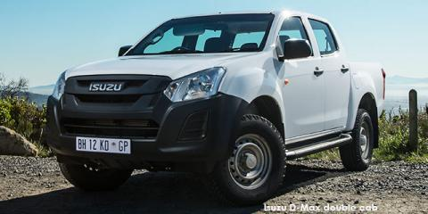 Isuzu D-Max 2.5 TD double cab - Image credit: © 2019 duoporta. Generic Image shown.