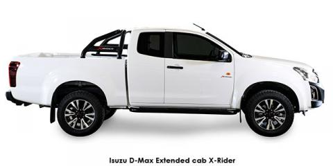 Isuzu D-Max 2.5 TD double cab 4x4 X-Rider - Image credit: © 2019 duoporta. Generic Image shown.