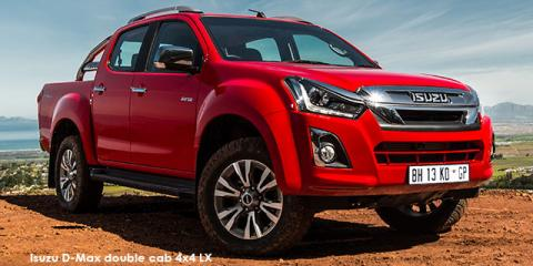 Isuzu D-Max 3.0 TD double cab 4x4 LX - Image credit: © 2019 duoporta. Generic Image shown.