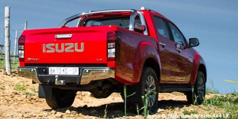 Isuzu D-Max 300 3.0TD double cab 4x4 LX - Image credit: © 2020 duoporta. Generic Image shown.