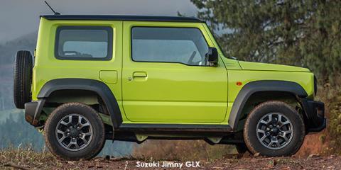 Suzuki Jimny 1.5 GLX AllGrip auto - Image credit: © 2021 duoporta. Generic Image shown.