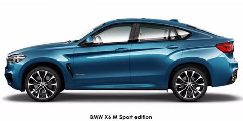 BMW X6 xDrive40d M Sport edition - Image credit: © 2018 duoporta. Generic Image shown.