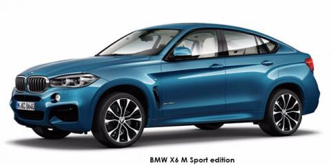 BMW X6 xDrive40d M Sport edition - Image credit: © 2019 duoporta. Generic Image shown.