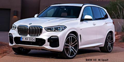 BMW X5 xDrive30d M Sport - Image credit: © 2019 duoporta. Generic Image shown.