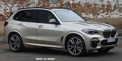 BMW X5 M50d - Image credit: © 2019 duoporta. Generic Image shown.