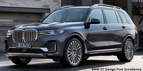 BMW X7 xDrive30d - Image credit: © 2018 duoporta. Generic Image shown.
