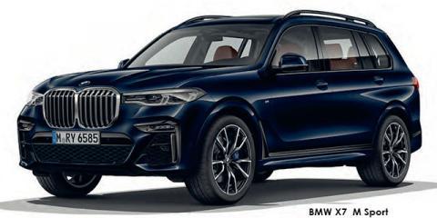 BMW X7 xDrive30d M Sport - Image credit: © 2020 duoporta. Generic Image shown.