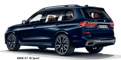 BMW X7 xDrive30d M Sport - Image credit: © 2019 duoporta. Generic Image shown.