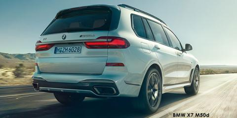 BMW X7 M50d - Image credit: © 2018 duoporta. Generic Image shown.