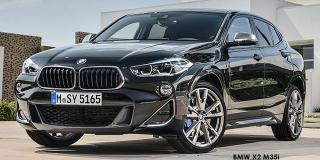 BMW X2 - Image credit: © 2021 duoporta. Generic Image shown.