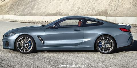 BMW M850i xDrive coupe - Image credit: © 2019 duoporta. Generic Image shown.