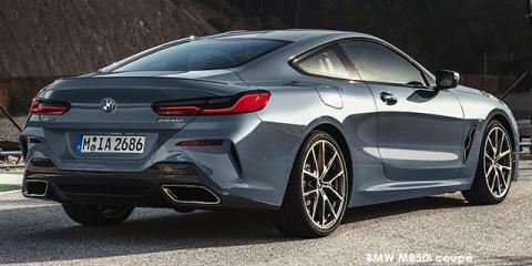 BMW M850i xDrive coupe - Image credit: © 2021 duoporta. Generic Image shown.