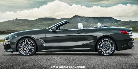 BMW M850i xDrive convertible - Image credit: © 2018 duoporta. Generic Image shown.