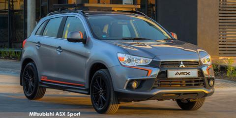 Mitsubishi ASX 2.0 Sport - Image credit: © 2018 duoporta. Generic Image shown.