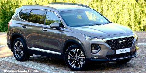 Hyundai Santa Fe 2.2D 4WD Elite - Image credit: © 2020 duoporta. Generic Image shown.