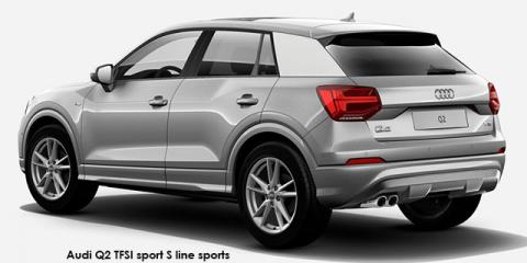 Audi Q2 30TFSI sport S line sports - Image credit: © 2020 duoporta. Generic Image shown.