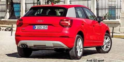 Audi Q2 30TFSI sport - Image credit: © 2019 duoporta. Generic Image shown.