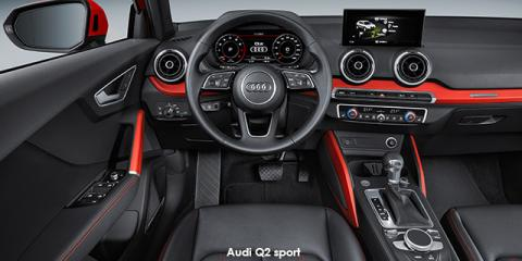 Audi Q2 30TFSI sport - Image credit: © 2020 duoporta. Generic Image shown.