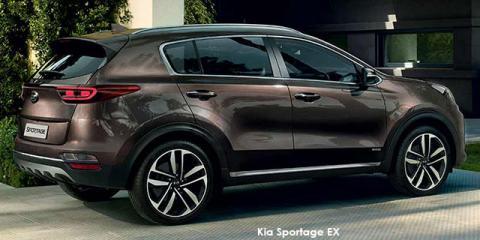 Kia Sportage 2.0CRDi EX Plus - Image credit: © 2021 duoporta. Generic Image shown.