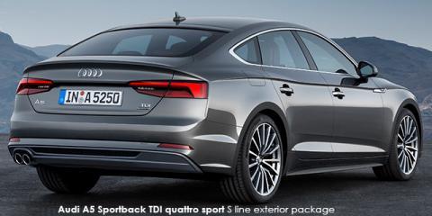Audi A5 Sportback 40TDI quattro sport S line sports - Image credit: © 2019 duoporta. Generic Image shown.