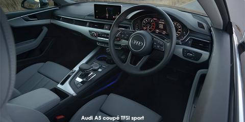 Audi A5 coupe 40TDI sport S line sports - Image credit: © 2020 duoporta. Generic Image shown.