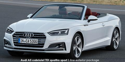 Audi A5 cabriolet 45TFSI quattro sport - Image credit: © 2019 duoporta. Generic Image shown.