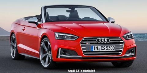 Audi S5 cabriolet quattro - Image credit: © 2019 duoporta. Generic Image shown.