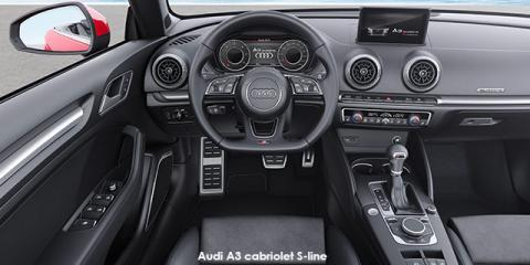 Audi A3 cabriolet 40TFSI S line - Image credit: © 2018 duoporta. Generic Image shown.