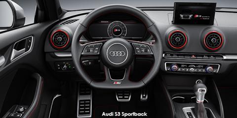 Audi S3 Sportback quattro - Image credit: © 2019 duoporta. Generic Image shown.