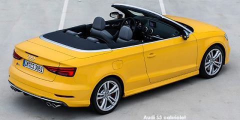 Audi S3 cabriolet quattro - Image credit: © 2019 duoporta. Generic Image shown.