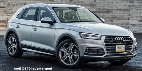 Audi Q5 40TDI quattro sport - Image credit: © 2019 duoporta. Generic Image shown.