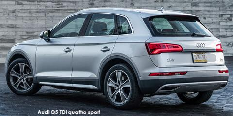 Audi Q5 40TDI quattro sport - Image credit: © 2020 duoporta. Generic Image shown.
