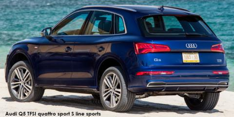 Audi Q5 40TDI quattro sport S line sports - Image credit: © 2020 duoporta. Generic Image shown.